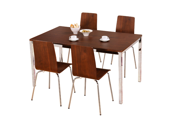 Home dining sets table and 4 chairs walnut  : Rectangular Walnut Set T2B4 Final from www.broadwayfurnishings.co.uk size 750 x 500 jpeg 132kB