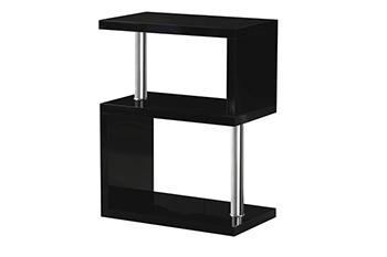 charisma 3 shelf unit-black