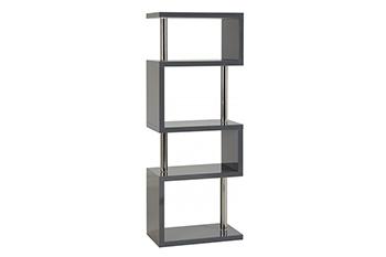 charisma 5 shelf unit-grey