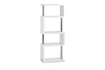 charisma 5 shelf unit-white