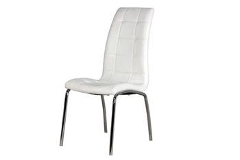 ad999e75b5 Home :: dining sets :: chairs only :: lugano chair - white