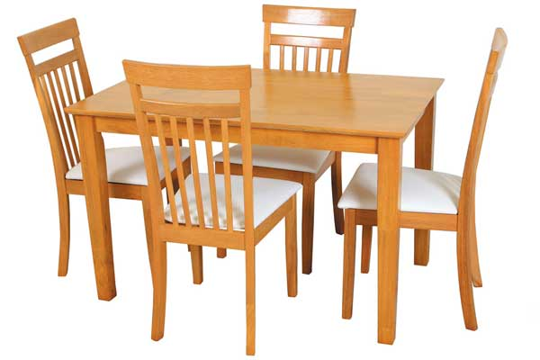 shaker table + 4 chairs