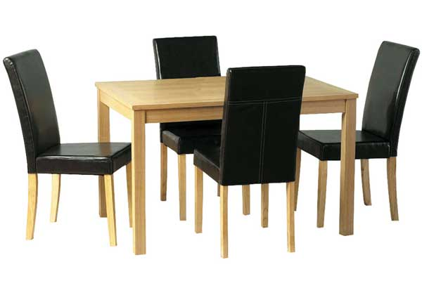 oakhurst table + 4 chairs