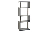 charisma 5 shelf unit-grey