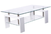 ferreira white coffee table