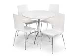 mondo table + 4 chairs