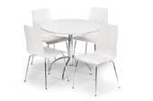 mondo table + 4 chairs