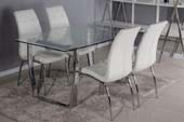 lugano table + 4 chairs