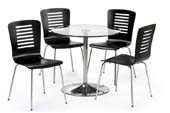 soho table and 4 chairs